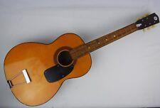 Vtg Sears & Roebuck Harmony Flat Top Acoustic Guitar - For Repair Sweet Neck!
