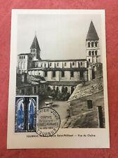 Carte FDC France 1er jours Tounus N° 986 à Tournus de 1954