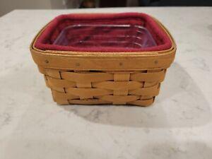 Longaberger 2010 Warm Brown Medium Berry Basket