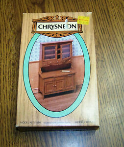 NIP Miniature Country Kitchen Cabinet 1:12  scale  KIT #280 by Chrysnbon