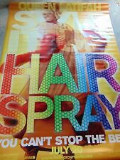 """Movie banner Hairspray Queen Latifah John Travolta 48"""" x 70"""" PG Baltimore Poster"""