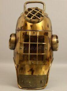 Vintage US Navy Diving Divers Helmet Solid Steel Full Size 18_Inch Handmade Gift
