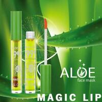 Aloe vera gel jelly moisturizing liquid lipstick lip easy not gloss is fade R4W9