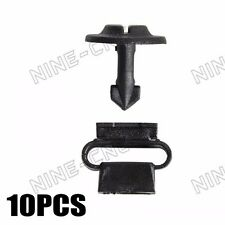 10x Engine Undertray Cover Clips Screws For VW AUDI A3 96-2003 A4 00-08