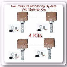4 TPMS Tire Pressure Monitoring System Sensor Fits: Chevrolet GMC Pontiac Saturn