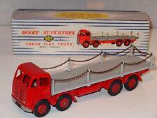 DINKY FODEN piatto camion con catene - 905 tipo 2