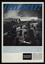 1963 BUICK WILDCAT Convertible Muscle Car - Go Cart - Go Kart - VINTAGE AD
