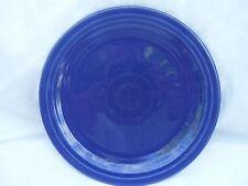 "Old VINTAGE Fiesta Ware 7"" Cobalt Blue Salad Plate from 1936-1951"