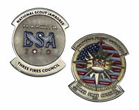 BSA National Scout Jamboree Three Fires Council 2010 Challenge Coin