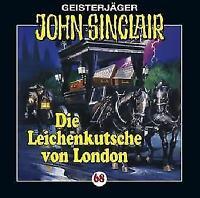 """Angebot! * HÖRSPIEL CD * JOHN SINCLAIR """"Leichenkutsche von London"""" 68 * NEU/OVP"""