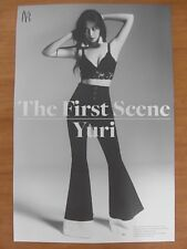YURI (SNSD GIRLS' GENERATION) - The First Scene [OFFICIAL] POSTER *NEW* K-POP