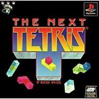 The Next Tetris - Playstation 1  Region NTSC-J - Japanese Import