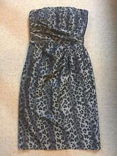 BRAND NEW UNTOLD DRESS/ HOUSE OF FRASER/ SIZE 10/ SAFARI LUX, SILVER & BLACK