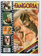 "WoW! Fangoria #39 ""V"" Makeup! Dreamscape! Attack Of The 50ft. Woman! Gremlins!"