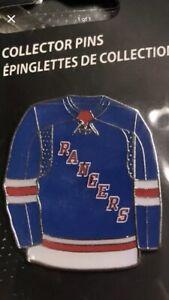 NEW YORK RANGERS PIN Blue Home NHL Logo Hockey Original 6 Team Lgr!