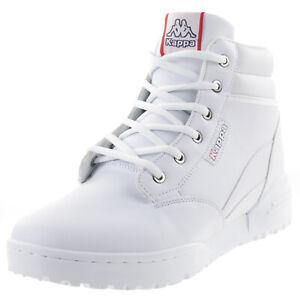 Kappa Bonfire LF Unisex Hoher Sneaker 242779 weiss
