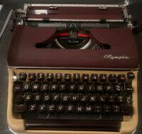 1956 Olympia SM3 DeLuxe Rare Two Tone Burgandy & Cream  - NEAR MINT