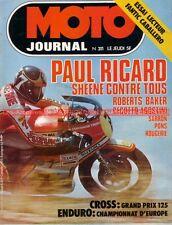 MOTO JOURNAL  311 FANTIC Caballero 50 ; Barry SHEENE GODIER GENOUD MJ 200 1977