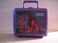 Lion King Plastic Lunchbox, No Thermos! (Used) Walt Disney!