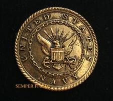 US NAVY LOGO SEAL BADGE PIN UP USS EAGLE RETIREMENT PROMOTION GIFT VET NR L300
