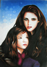 Twilight Universe Sketch Card by GARY KEZELE - Bella / Renesmee 1/1 ~ New / Rare