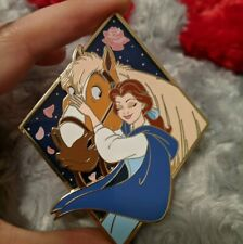 Beauty and the Beast Belle and Philippe fantasy pin Le