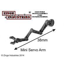 Zinge Industries 28mm Human Scale Robotic Servo Arm Mini Set Forest Sprue SSER04