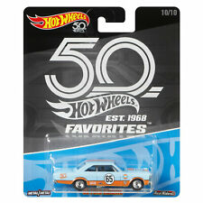 Hot Wheels 50th Anniversary Favorites 1:64 Scale Die-cast '65 FORD GALAXIE