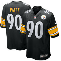New 2020 NFL Nike Pittsburgh Steelers T.J. Watt #90 Game Edition Player Jersey