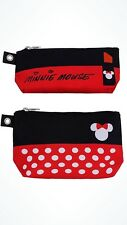 Disney Parks Tag Minnie Cosmetic Toiletry Bag Set Of 2 - New With Tag Wdw