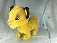 "Disney BABY Walking Plush Electronic Simba Lion King Roaring Walking 9"" FS EUC"