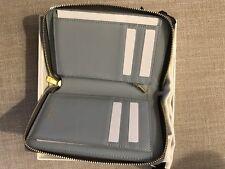 Celine Medium Zip Around Wallet Authentic New Paris, Grey