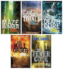 The Maze Runner by James Dashner – Audiobooks MP3-DVD (Books 1- 5 ) Unabridged