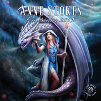 ANNE STOKES 2019 CALENDAR* FANTASY, DRAGONS, FAIRIES, ANGELS, UNICORNS, WOLF
