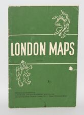 London Maps & Guide - Geographers Map Co. - c1965