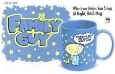 FAMILY GUY TV Comedy Show Sitcom STEWIE 12 Oz Blue CERAMIC COFFEE MUG New
