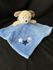 New ListingBaby Gear Puppy Dog Blue Lovey Security Blanket Stars