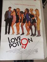 Vintage 1 sheet 27x41 Movie Poster Love Potion # 9 1992 Sandra Bullock