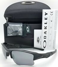 NEW Oakley Flak Jacket XLJ sunglasses Matte Black / BLK Iridium 24-434 AUTHENTIC