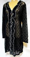 TS jacket TAKING SHAPE plus sz XS / 14 Finite Lace Cardy sexy feminine light NWT