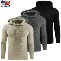Men's Hoodie Hooded Sweatshirt Coat Outwear Long Sleeve Jumper Sweater Pullover
