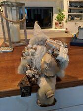 Santa Elf Shelf Sitter Stuffed White