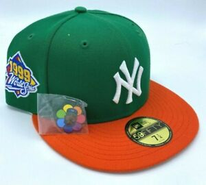 New Era 59Fifty Jae Tips New York Yankees Subway Series Patch Green 7 1/4 🚚✅