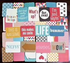 Project Life KRAFT Core Kit Partial 76 Cards Becky Higgins
