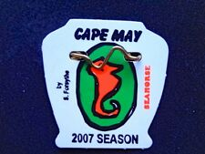 New Original 2007 Seasonal Cape May, NJ Beach Tag/Badge