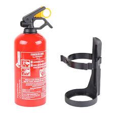 EXDINGER BC-Pulver- Autofeuerlöscher 1 kg Aufladelöscher kompakt Sicherungskeil