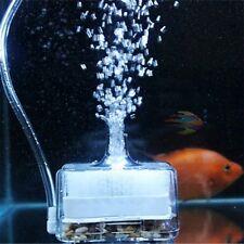 Aquarium Air Driven Biochemical Sponge Fish Tank Corner Filter Oxygen Pump OG