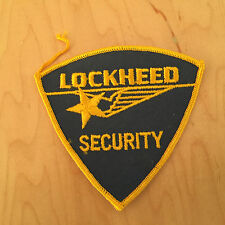 LOCKHEED SECURITY PATCH, NEW OLD STOCK 1960'S,
