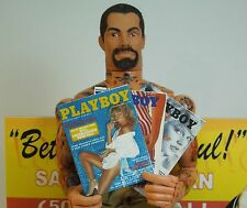 1/6 Scale late 1970's Playboy Magazines - set of 3
