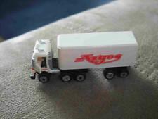 Micro Machines Vehicle Semi Big Rig Truck Lorry Cargo Argos Box Trailer Carrier